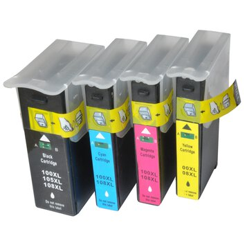 1 x Tusz do Lexmark 100 XL YELLOW