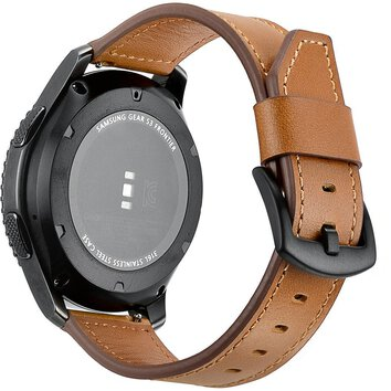 Tech-Protect Opaska skórzana Herms do Samsung Galaxy Watch 46mm